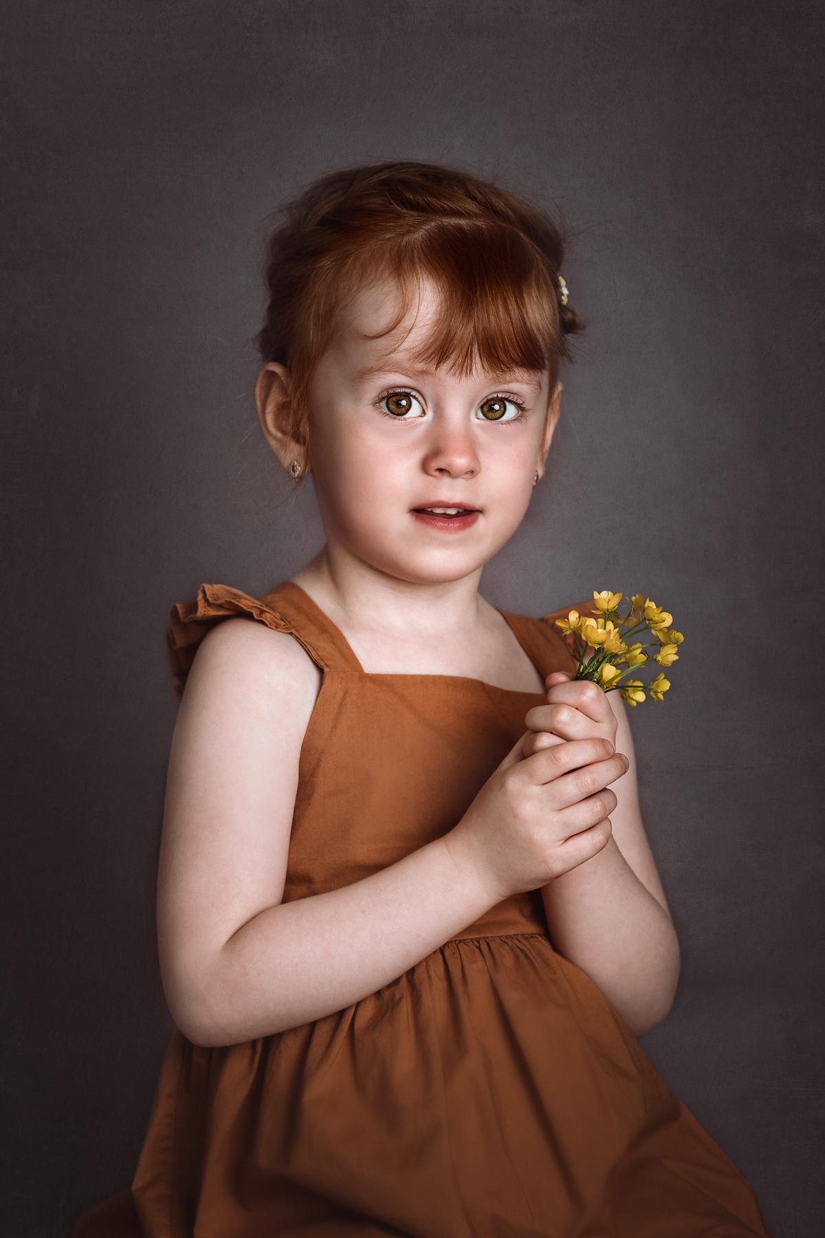 Portret dziecka Śląsk
