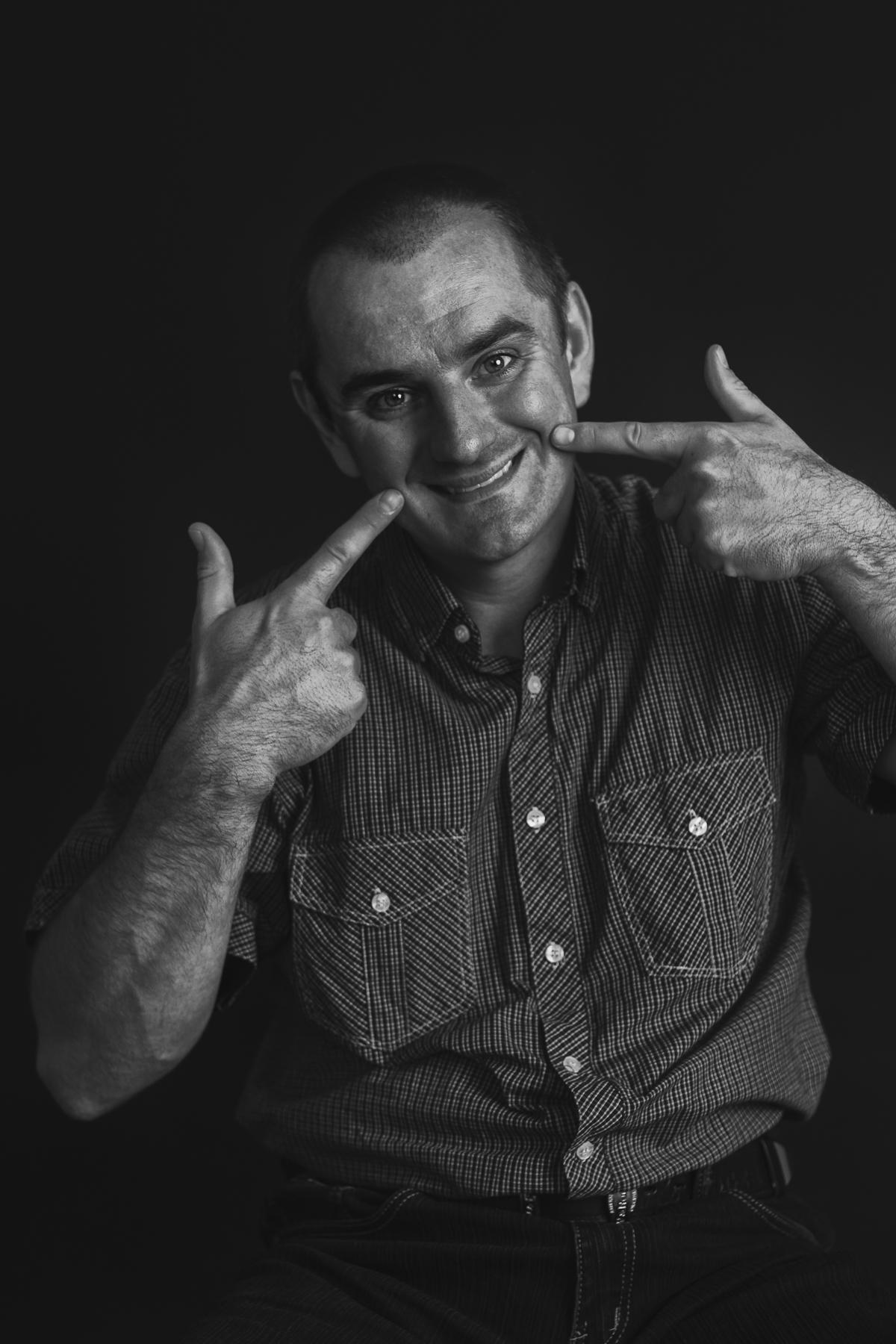 Portret mężczyzny Rybnik